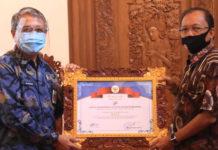 Capaian Tertinggi, Bali Terima Penghargaan Partisipasi Sensus Online 2020