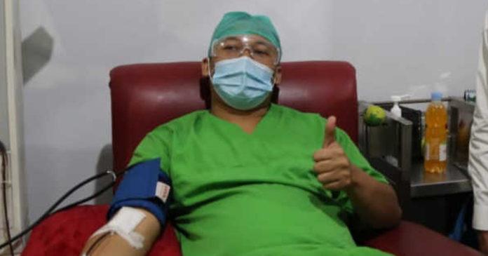 Dinkes Bali Edukasi Mantan Pasien Covid-19 untuk Donor Plasma
