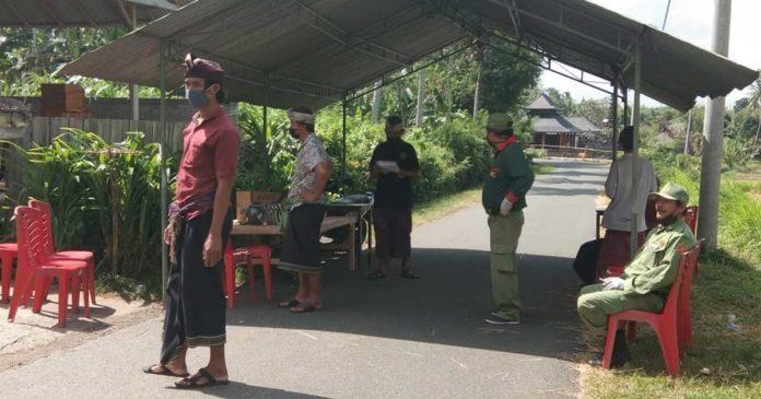 Karantina Banjar, Salah Seorang Warga Banjar Munduk Menghilang