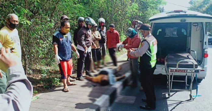 Kecelakaan Adu Jangkrik, Wayan Selamat Tak Selamat