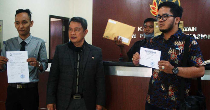 Korban Sindikat Mafia Tanah Sesetan Mengadu ke Satgas PPMT