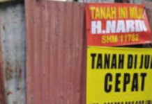 Mafia Tanah Paksa Alihkan Tanah Bermasalah