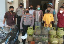 Mencuri di 10 TKP, Buruh Bangunan Ditangkap Polisi