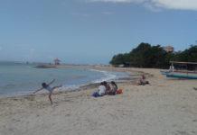 Pantai Sindu Masih Sepi Pengunjung
