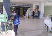 Pasien Suspect Covid-19 di RSD Mangusada Overload