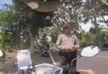 Oknum Polisi yang Peras WNA Jepang Ditahan di Polda Bali