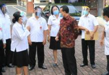 Sekda Bali Cek Sarana dan Prasarana SMAN 7 Denpasar