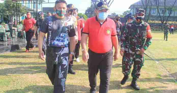 Jembrana Zona Merah, Bupati Artha Ajak TNI-Polri Disiplinkan Masyarakat