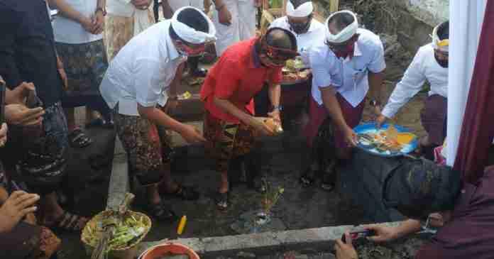 Koster-Cok Ace Dua Tahun Pimpin Bali,  Tetap Bangun Infrastruktur di Tengah Pandemi Covid-19