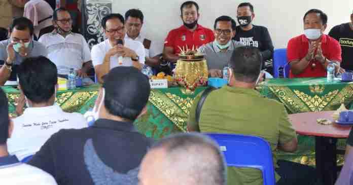 Suiasa Sosialisasikan Perbup Nomor 52 Tahun 2020 di Kecamatan Kuta
