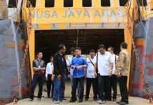 Diterjang Gelombang, Kemudi Kapal Roro Nusa Jaya Abadi Patah