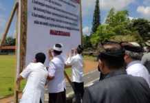 Komponen Masyarakat Bangli Deklarasikan Bali Cinta Damai