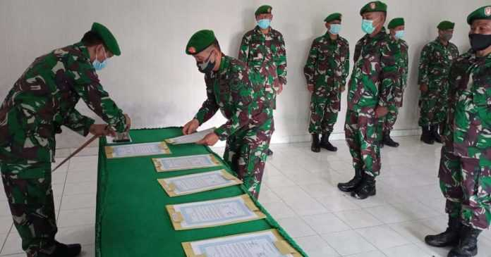 Penyegaran Organisasi, Sejumlah Pejabat Kodim Digeser