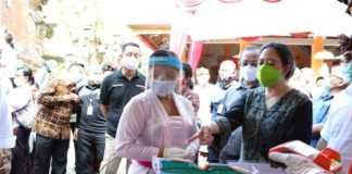 """Puan Maharani  Sosialisasi """"Ingat Pesan Ibu""""  di Abiansemal"""