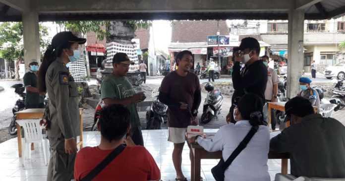 Razia di Tiga Tempat, 32 Warga Tanpa Masker Didenda