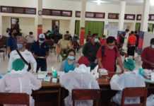 10.818 Petugas KPPS di Denpasar Jalani Rapid Test