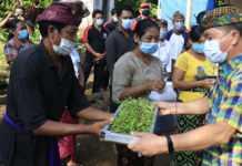 100 KK Miskin di Klungkung Diberi Bantuan Tanaman Hidroponik