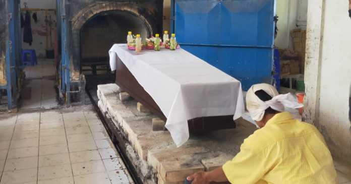 30 Jenazah Telantar Dikremasi di Mumbul