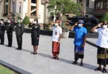 Badung Peringati Hari Pahlawan Dengan Prokes Ketat