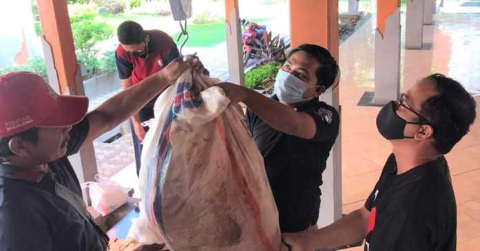 Bank Sampah Simpatik Kumpulkan Tiga Ton Sampah Plastik