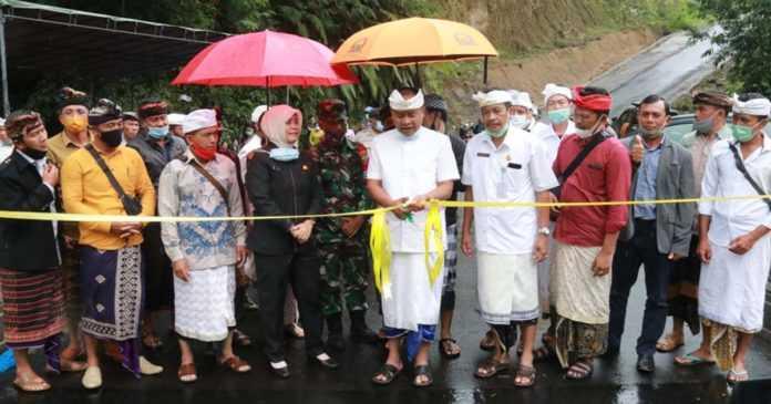 Bupati Bangli Resmikan Dua Jembatan