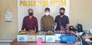 Curi Belasan Accu, Pelajar Asal Nusa Penida Ditangkap