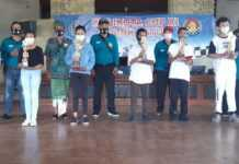 Gregorio dan IGA Utari Juara Catur Walikota