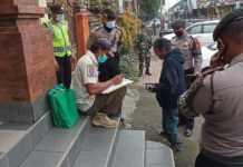 Ini Hasil Sidak Prokes di Bangli Selama 10 Hari Terakhir