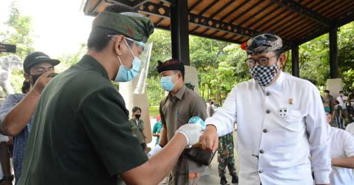 Kembali Dibuka, Objek Wisata Monkey Forest Taat Prokes