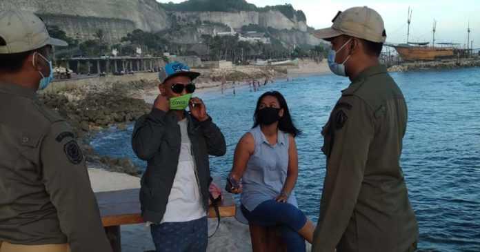 Linmas Badung Serentak Gelar Sidak, Denpasar Sasar Perbatasan