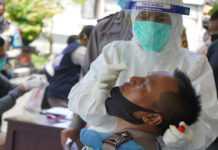 Ratusan Personel Polres Bangli Ikuti Uji Usap