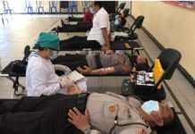 Sat Polair Polres Jembrana Gelar Donor Darah