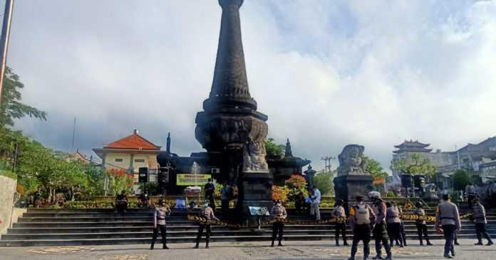 Warga Nusa Penida Gelar Aksi Damai, Polres Klungkung Lakukan Pengamanan Berlapis