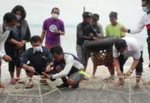 Bupati Suwirta Adopsi Karang di Desa Ped