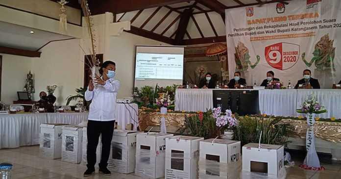 Dana-Dipa Kuasai 7 Kecamatan, Massker Hanya Unggul di Kubu