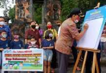Deklarasikan Desa Layak Anak, Panji Siapkan Dua Bus Gratis