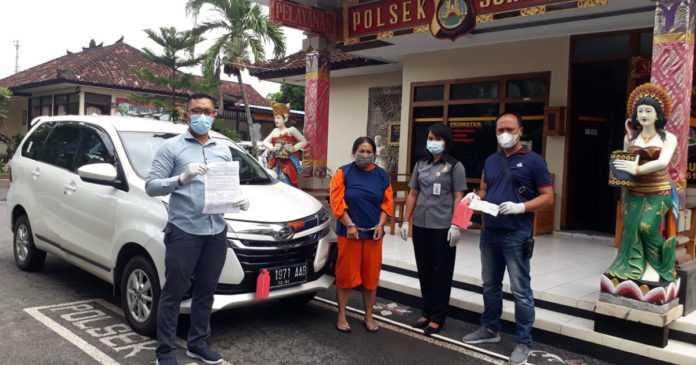 Gelapkan Mobil, Seorang Perempuan Diciduk Polisi