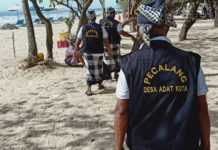 Maksimalkan Pengawasan Prokes di Pantai Kuta, Desa Adat Terjunkan Pecalang