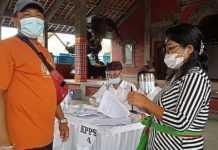 Meski Pandemi, Warga di Kecamatan Karangasem Antusias ke TPS