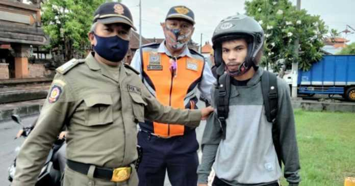 Pelanggar Prokes Banyak dari Luar Denpasar, Satpol PP Lakukan Ini