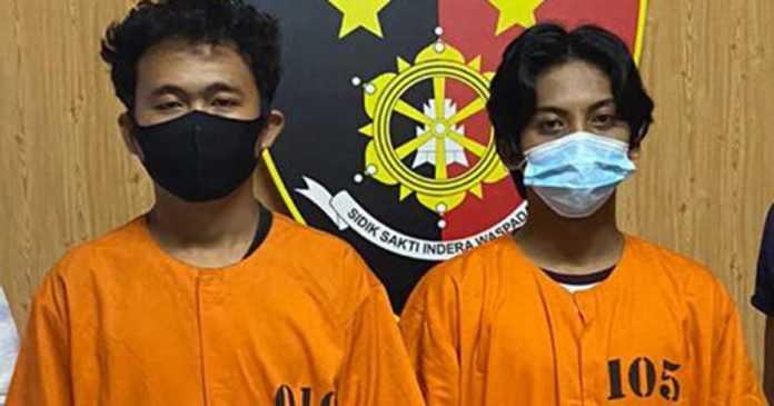 Transaksi Tembakau Gorila, Dua Pemuda Asal Jimbaran Ditangkap