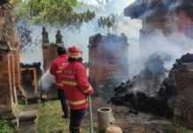 Tujuh Palinggih Pura Dalem Terbakar, Kerugian Ditaksir Rp 1 M