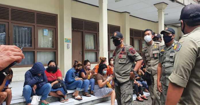 18 PSK Diamankan Satpol PP Denpasar