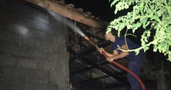 Gudang dan Rumah Terbakar, Kerugian Capai Rp 20 Juta