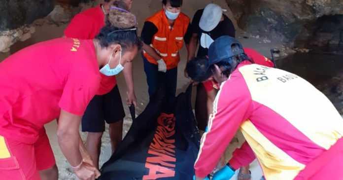 Mayat WNA Ditemukan Tergeletak di Pantai Suluban
