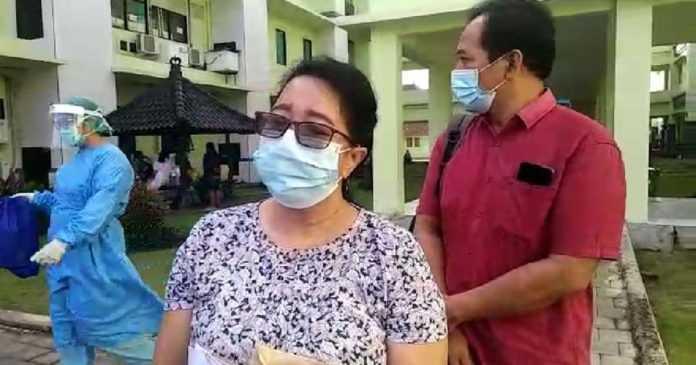 Sembuh, Ketua DPRD Sekeluarga Bebas dari Ruang Isolasi