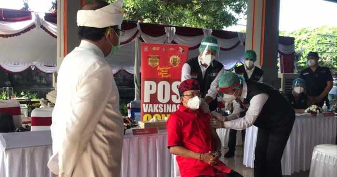 Vaksinasi Kedua, Jaya Sabha Dijaga Ketat