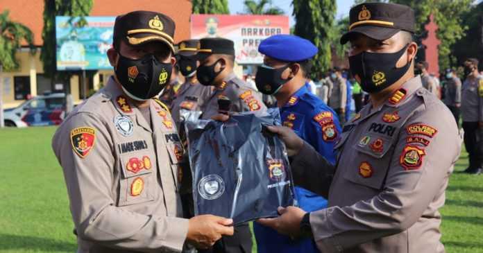 Dapat Predikat WBK, Personel Polres Buleleng Nyatakan Siap Ngayah