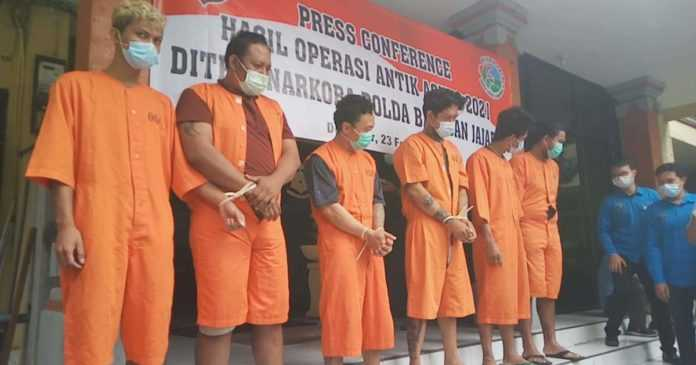 Dua Pekan, 72 Tersangka Kasus Narkoba Ditangkap
