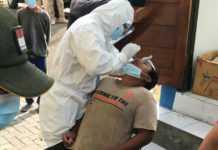 Dua Pelanggar Prokes Tolak Uji Cepat Antigen